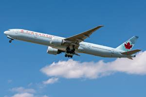 Pictures Passenger Airplanes Boeing Side Air Canada, 777-300ER