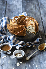 Pictures Baking Pound Cake Boards Spoon Food