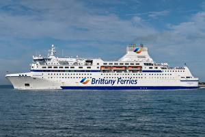 Fotos Meer Schiff MV Normandie, Brittany Ferries
