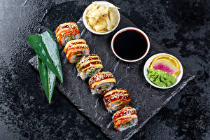 Pictures Sushi Soya sauce