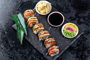 Bilder Sushi Sojasauce