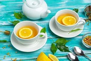 Images Tea Lemons Kettle Cup Spoon Saucer Food