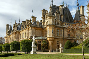 Fotos Vereinigtes Königreich Haus Skulpturen Herrenhaus Waddesdon Manor