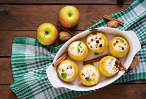 Wallpaper Apples Dessert Cinnamon Food
