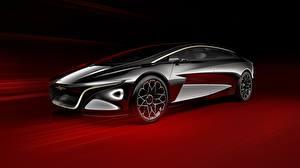 Hintergrundbilder Aston Martin Metallisch Schwarz Concept, Vision, Lagonda Autos