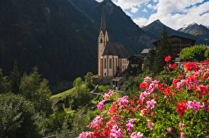 Fotos Österreich Gebirge Kirchengebäude Heiligenblut, Carinthia Städte