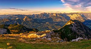 Fotos Österreich Gebirge Landschaftsfotografie Alpen Luppitsch Styria