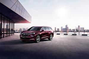 Fotos Buick Crossover Bordeauxrot Metallisch 2019 Enclave Avenir auto