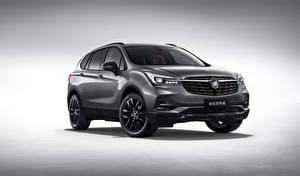 Hintergrundbilder Buick Crossover Graue Metallisch 2019 Envision Million auto