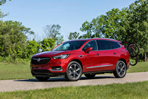Wallpapers Buick Crossover Red Metallic 2020 Enclave Sport Touring