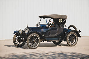 Pictures Buick Retro Blue 1914 Model B-36 Roadster Cars