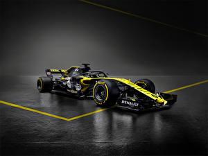 Bakgrundsbilder på skrivbordet Formel 1 Renault 2018, R.S.18 Bilar