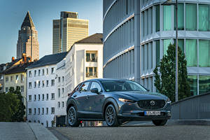 Bilder Mazda Graue Metallisch 2019 CX-30 Worldwide automobil