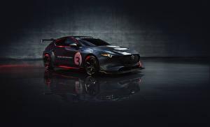 Hintergrundbilder Mazda Fahrzeugtuning Graue Metallisch 2020 Mazda3 TCR