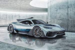Picture Mercedes-Benz Side Concept AMG Project ONE Cars