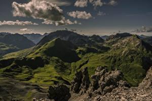 Bilder Gebirge Österreich Wolke Tirol, Ausserfern