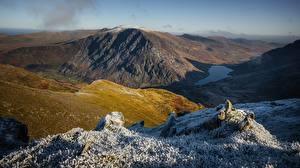 Fotos Berg Vereinigtes Königreich Wales Glyderau, Snowdonia Natur