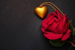 Bilder Rose Valentinstag Herz Rot Vorlage Grußkarte Blüte