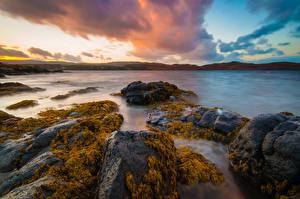 Fotos Himmel Schottland Isle of Skye, Flashader