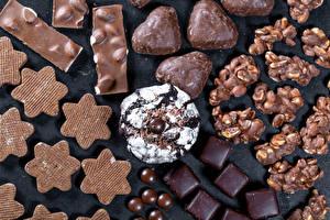 Bilder Süßigkeiten Kekse Bonbon Schokolade