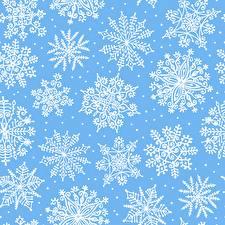 Fotos Ornament Textur Schneeflocken