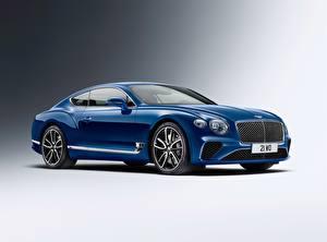 Fotos & Bilder Bentley Blau Metallisch Continental GT 2018 Autos