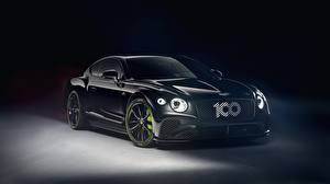 Hintergrundbilder Bentley Schwarz Metallisch Continental GT, Limited Edition 2020 auto