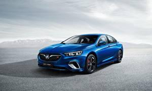 Pictures Buick Blue Metallic Regal GS 2017 automobile
