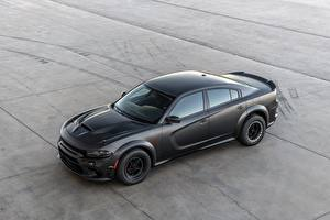 Picture Dodge Black Charger, AWD 2019 SpeedKore, Twin Turbo Carbon