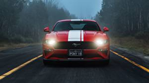 Fotos Ford Vorne Strips Rot 2018 Mustang GT auto