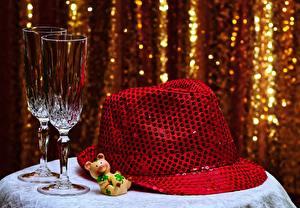 Bilder Der Hut Weinglas