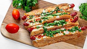 Fotos Hotdog Frankfurter Würstel Vier 4