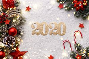 Bilder Dauerlutscher Neujahr Schnee Kugeln Zapfen Ast Kleine Sterne 2020