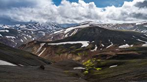 Fotos Berg Island Wolke Landmannalaugar