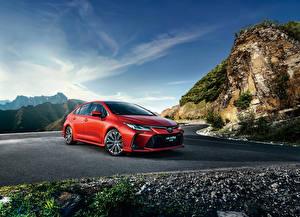 Fotos Toyota Rot 2019 Corolla Sport Sedan automobil
