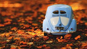 Bilder Spielzeug Volkswagen Hinten