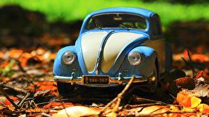 Fotos Spielzeug Volkswagen Vorne Beetle
