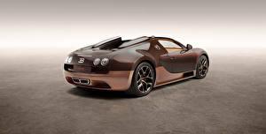Bilder BUGATTI Braunes Carbon Roadster Veyron, Grand Sport, Vitesse, Rembrandt Bugatti 2014 auto