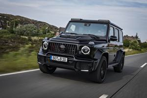 Photo G-Wagen Mercedes-Benz Black AMG, G63 2019 W464, Black Ops 800 automobile