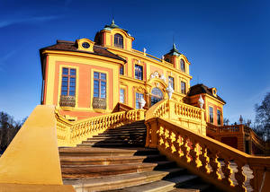 Wallpapers Germany Building Palace Staircase Design Ludwigsburg Cities
