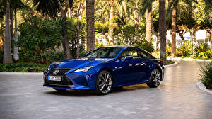 Fotos Lexus Blau Metallisch 2018-19 RC 300h F SPORT Worldwide