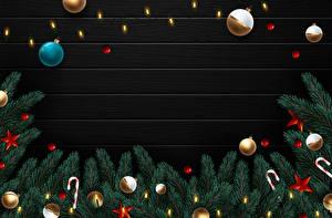Hintergrundbilder Vektorgrafik Neujahr Dauerlutscher Ast Kugeln Kleine Sterne Lichterkette Vorlage Grußkarte