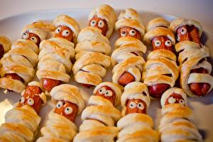 Images Vienna sausage Eyes Many Creative Food