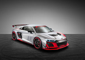 Image Audi Tuning Silver color 2019-20 R8 LMS GT4 automobile
