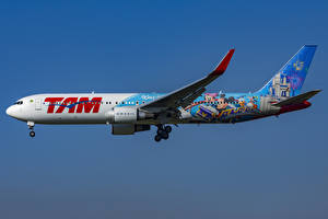 Images Airplane Boeing Passenger Airplanes Side 767-300W, LATAM Airlines