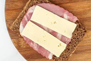 Fotos Butterbrot Brot Schinken Käse