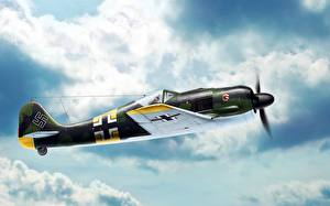 Bilder Flugzeuge Jagdflugzeug Deutscher  Luftfahrt