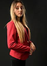 Bilder Hand Haar Starren Blondine  junge Frauen