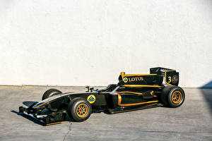 Wallpaper Lotus Formula 1 Black 2010-11 T125 Exos