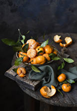 Wallpapers Mandarine Leaf